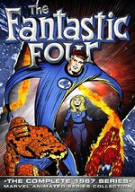 Fantastic Four (1967 animated series) Season 1 Home Video Cover 0002