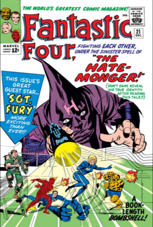 Fantastic Four Vol 1 21