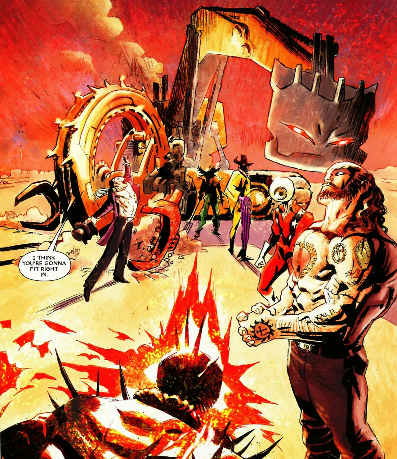 Ghost Rider Assassination League (Earth-616) | Marvel
