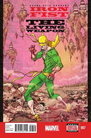 Iron Fist The Living Weapon Vol 1 7