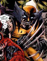 James Howlett (Earth-7044) from Ultimate Civil War Spider-Ham Vol 1 1 001