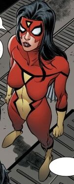 Jessica Drew (Earth-19919) from Spider-Island Vol 1 4 001