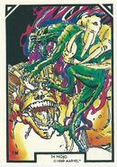 Mojo (Mojoverse) from Arthur Adams Trading Card Set 0001