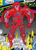 Nathaniel Richards (Scarlet Centurian) (Earth-6311) from Avengers Annual Vol 1 2 0001