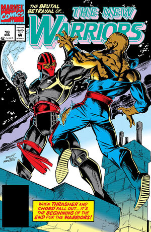 New Warriors Vol 1 18