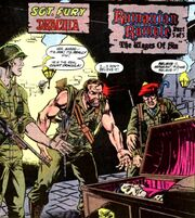 Nick Fury discovers the truth about Dracula in Marvel Comics Presents Vol 1 79