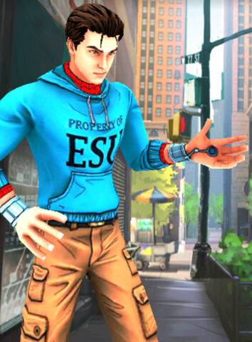File:Peter Parker (Earth-TRN461) from Spider-Man Unlimited (video game) 048.jpg