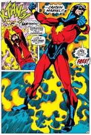 Richard Jones (Earth-616) and Mar-Vell (Earth-616) from Captain Marvel Vol 1 17 001