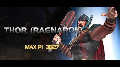 Thor (Ragnarok) Marvel Contest of Champions