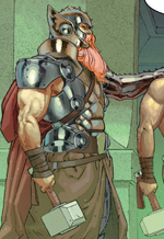 Thor Odinson (Thor Corps) (Earth-15513) from Secret Wars Vol 1 2 002