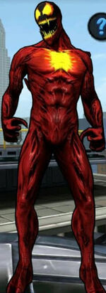 Ultimate Carnage Symbiote from Spider-Man Unlimited (video game) 001