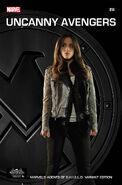 Uncanny Avengers Vol 1 14 Marvel's Agents of S.H.I.E.L.D. Variant Textless