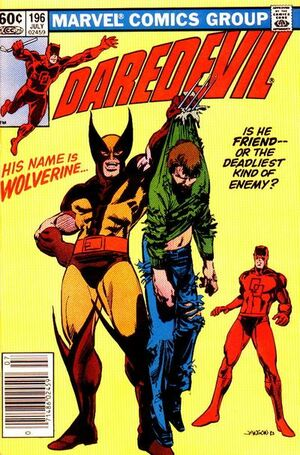 Daredevil Vol 1 196