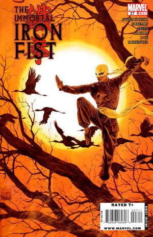 Immortal Iron Fist Vol 1 27