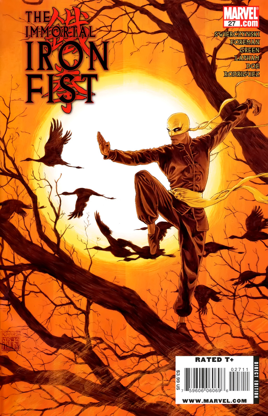 Immortal Iron Fist Vol 1 27