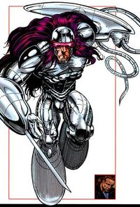 Joss Sharpe (Earth-616) from All-New Official Handbook of the Marvel Universe Update Vol 1 1 0001