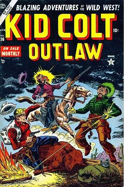 Kid Colt Outlaw Vol 1 36