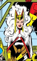 Ororo Munroe (Earth-9105) from New Warriors Vol 1 12 0001