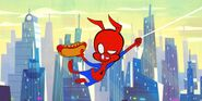 Peter Porker (Earth-TRN705) from Spider-Ham Caught In A Ham 001