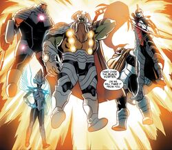 Slaughter Lords (Earth-616) from Guardians of the Galaxy & X-Men Black Vortex Alpha Vol 1 1 001