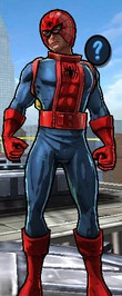 Spider-Jameson, the Super Astronaut from Spider-Man Unlimited (Video Game) 0001