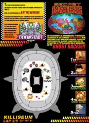 The Killiseum's circuit from Ghost Racers Vol 1 1