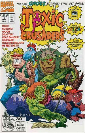 Toxic Crusaders Vol 1 1