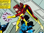 Wanda Maximoff (Earth-295) from X-Men Chronicles Vol 1 1 0001