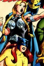 Brunnhilde (Earth-Unknown) from Marvel Adventures Super Heroes Vol 2 10 001