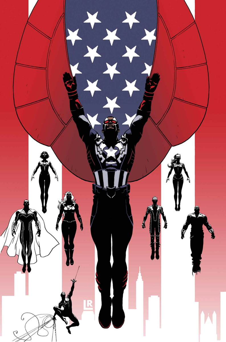 Captain America and the Mighty Avengers Vol 1 1 Textless