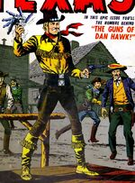 Dan Hawk (Earth-616) from The Kid from Texas Vol 1 1 Cover