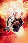 Explosion - Marc Spector (Earth-616) Moon Knight Vol 6 1