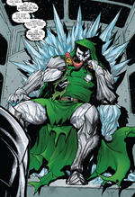 Hive (Poisons) (Earth-17952) Members-Poison Doctor Doom from Venomverse Vol 1 2 001