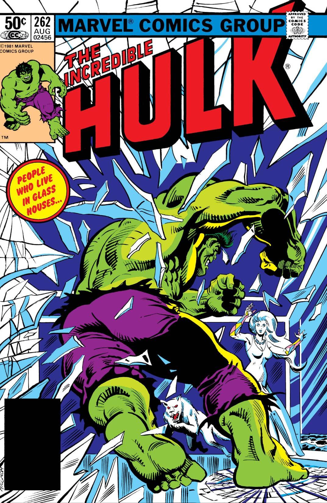 Incredible Hulk Vol 1 262