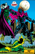 Kaine Parker (Earth-616) vs. Quentin Beck (Earth-616) and Maxwell Dillon (Earth-616) from Spider-Man Funeral for an Octopus Vol 1 2 001
