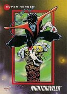 Kurt Wagner (Earth-616) from Marvel Universe Cards Series III 0001