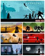 Marvel Cinematic Universe Box Set Phase 1