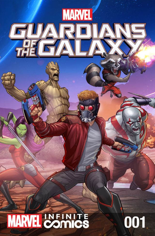 marvel comics guardians of the galaxy