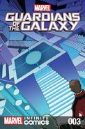 Marvel Universe Guardians of the Galaxy Infinite Comic Vol 1 3