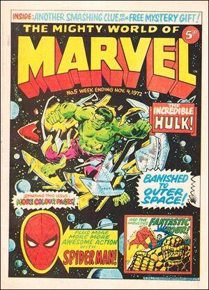 Mighty World of Marvel Vol 1 5