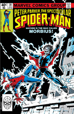 Peter Parker, The Spectacular Spider-Man Vol 1 38