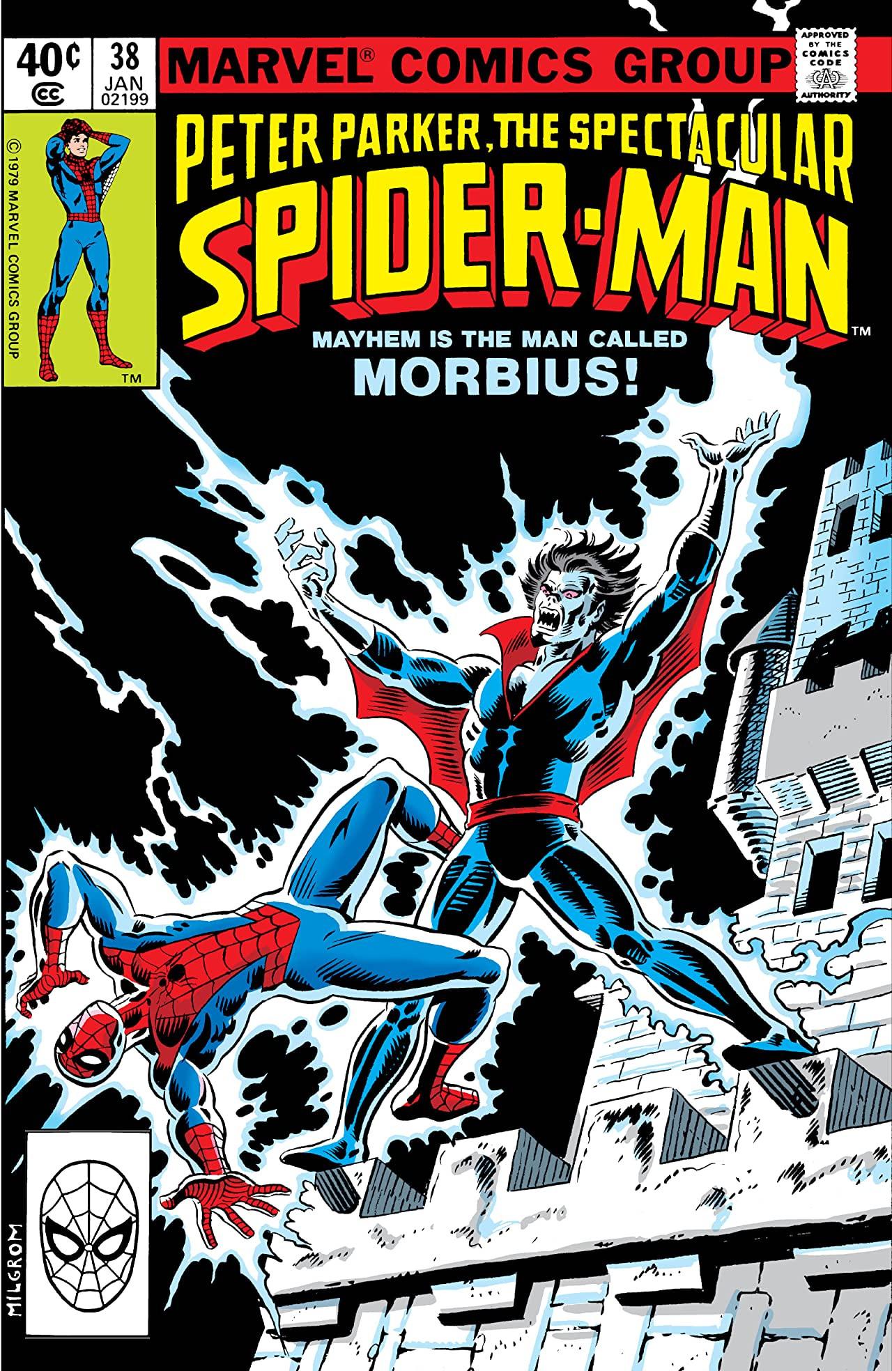 Peter Parker, The Spectacular Spider-Man Vol 1 38