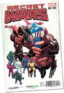 Secret Wars Vol 1 1 Adams Variant