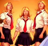 Stepford Cuckoos (Earth-12224) from What If Astonishing X-Men Vol 1 1 001