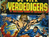 Vier Verdedigers Zwart Wit nr 9 (NL)