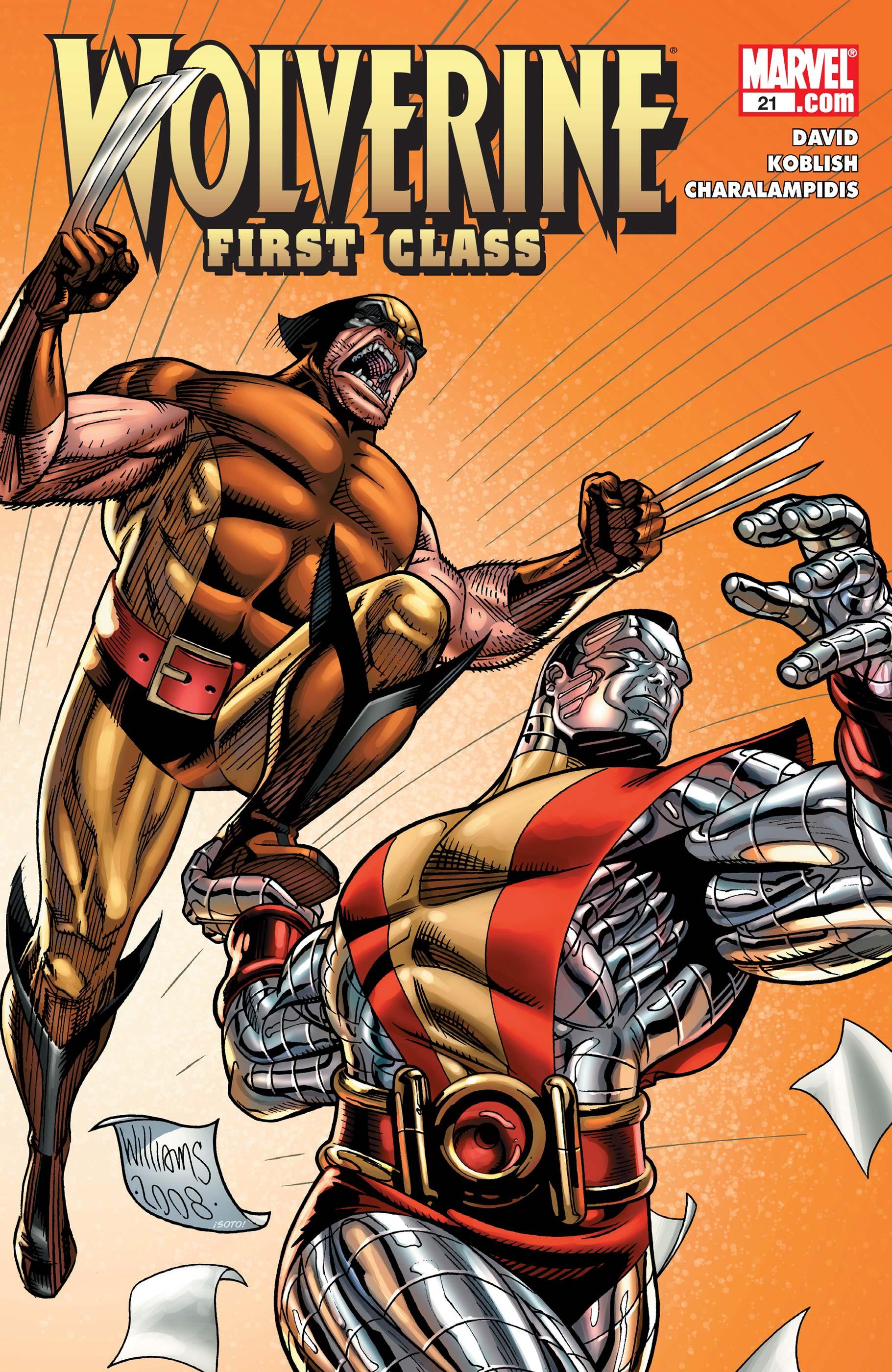 Wolverine First Class Vol 1 21