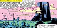 Black Tower of M'Kumbe from Fantastic Four Vol 1 241 001