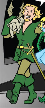 Fandral (Earth-TRN775) from King-Size Spider-Man Summer Special Vol 1 1 0001