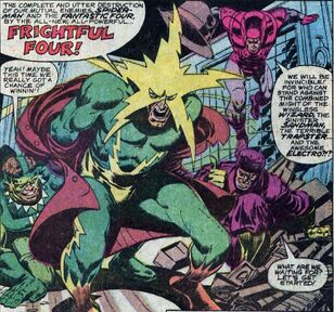 Frightful Four (Earth-616) Electro joins the group from Peter Parker the Spectacular Spider-Man Vol 1 40