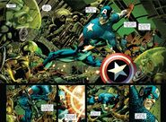Hydra (Earth-616), Ophelia Sarkissian (Earth-616), Steven Rogers (Earth-616) and Richard Jones (Earth-616) from Captain America Reborn Vol 1 4 001